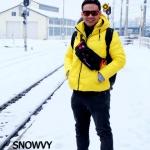 เสื้อกันหนาว SNOWVY : (สีเหลือง) ทรงขนเป็ดเข้ารูป แขนยาวถึงมือ -15c เอาอยู่