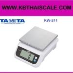 ตาชั่งดิจิตอล เครื่องชั่งดิจิตอล เครื่องชั่งแบบตั้งโต๊ะ พิกัดน้ำหนัก 10kg ค่าละเอียด 1g รุ่น KW-211 ยี่ห้อ TANITA พร้อมตรวจรับรองจากกระทรวงพาณิชย์