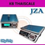 ตาชั่งดิจิตอล เครื่องชั่งดิจิตอล ตาชั่ง JZA Electronic-weighing scale เครื่องชั่ง 3.0kg ความละเอียด 0.1g มีแบตเตอรี่ชาร์ทได้ ยี่ห้อ JZA รุ่น JZA LCD-3kg/0.1g