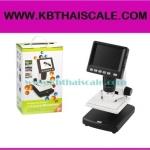 กล้องไมโครสโคป พร้อมจอ LCD 3.5″ stand alone digital microscope 20X-500X 5M USB(ราคาถูก)