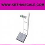 ตาชั่งน้ำหนักคน เครื่องชั่งน้ำหนักบุคคล เครื่องชั่งดิจิตอลพร้อมชุดวัดส่วนสูงพร้อม BMI คำนวณค่าดัชนีมวลกาย พิกัดกำลัง250kg ละเอียด0.1g วัดส่วนสูงได้ 110-210cm PTI FM-620-250X