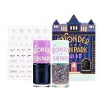 [Preorder] Etude wonder fun park nail kit #2 (สีทาเล็บ 2 ขวด และสติ๊กเกอร์ติดเล็บ)
