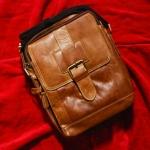 ฺBe Movable กระเป๋าสะพายข้างหนังแท้