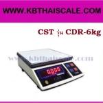 ตาชั่งดิจิตอล เครื่องชั่งดิจิตอลตั้งโต๊ะ เครื่องชั่งระบบอิเล็กทรอนิกส์ เครื่องชั่ง 6 kg ละเอียด 0.5 g ขนาด 218*260mm CST รุ่น CDR-6kg