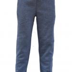 JOGGER SWEATPANTS กางเกงกีฬาจ๊อกเกอร์ รุ่นใหม่ ขาเดฟ กระเป๋าซิป สียีนส์-เข้ม Size S