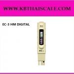 ปากกาวัดค่า EC เครื่องวัดค่าความนำไฟฟ้า เครื่องวัด EC EC Meter รุ่น EC-3