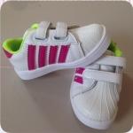 รองเท้าเด็ก Sport 4 แถบ สีชมพู 21