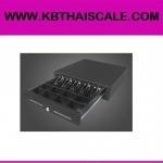 ลิ้นชักเก็บเงิน กล่องเก็บเงิน Cash drawer KB-88 (5 ช่องธนบัตร 8 ช่องเหรียญ สำหรับธนบัตรไทยโดยเฉพาะ ปรับความกว้างช่องได้) ราคาถูก คุณภาพดี