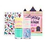 [Preorder] Etude wonder fun park nail kit #1 (สีทาเล็บ 2 ขวด และสติ๊กเกอร์ติดเล็บ)