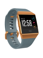 FITBIT IONIC Blue Slate / Burnt Orange One Size S & L Included