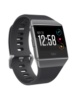 FITBIT IONIC Charcoal / Smoke Gray One Size S & L Included