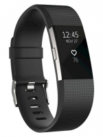 Fitbit Charge 2 Black Small รับประกันศูนย์ 1 ปี