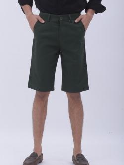 กางเกงสามส่วน สีเขียวมะกอก - Olive Green