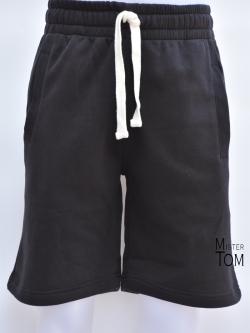 กางเกงกีฬาขาสั้นเทรนนิ่ง สีดำ