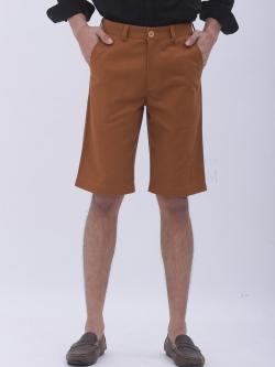 กางเกงสามส่วน สีน้ำตาลทอง - Hazel
