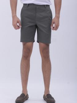 กางเกงขาสั้น สีเทามืด - Gray