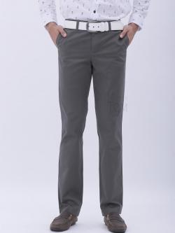 ขากระบอกเล็ก ผ้าเวสปอยท์ สีเทา- Gray