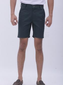 กางเกงขาสั้น สีเขียวเข้ม - Dark Green