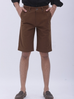 กางเกงสามส่วน สีน้ำตาล - Brown
