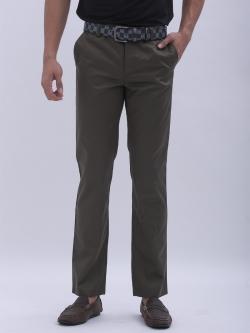 กระบอกเล็ก ผ้าซาติน สีเขียวทหาร - Army Green