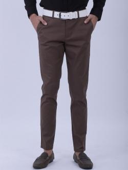 ขาเดฟ ผ้าซาตินยืด สีโกโก้ - Cocoa
