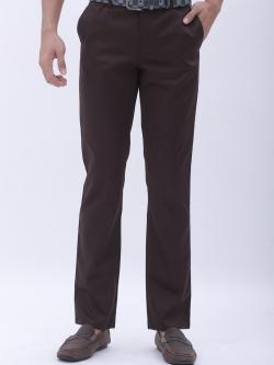 กระบอกเล็ก ผ้าซาติน สีน้ำตาลดำ - Dark Brown