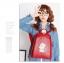 พร้อมส่ง กระเป๋าเป้ กระเป๋าสะพายหลัง แบรนด์Beibaobao รุ่น B142 (สีดำ สีแดง) thumbnail 9