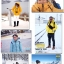 เสื้อกันหนาว SNOWVY : (สีชมพูเข้ม) ทรงขนเป็ดเข้ารูป แขนยาวถึงมือ -15c เอาอยู่ thumbnail 49