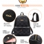 พร้อมส่ง กระเป๋าเป้ กระเป๋าสะพายหลัง แบรนด์Beibaobao รุ่น BP507 (ดำ น้ำเงิน ครีม) thumbnail 10