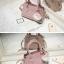 พร้อมส่ง กระเป๋าถือ กระเป๋าสะพายข้าง แบรนด์Axixi รุ่น A12378 (สีชมพู) thumbnail 2