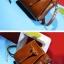 พร้อมส่ง กระเป๋าถือ กระเป๋าสะพายข้าง แบรนด์Beibaobao รุ่น B38163 (สีดำ สีน้ำตาล สีเขียว สีเทา) thumbnail 15