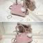 พร้อมส่ง กระเป๋าถือ กระเป๋าสะพายข้าง แบรนด์Axixi รุ่น A12378 (สีชมพู) thumbnail 3