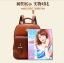 พร้อมส่ง กระเป๋าเป้ กระเป๋าสะพายหลัง แบรนด์Beibaobao รุ่น b201433 (ดำ,น้ำตาล,น้ำตาลเข้ม,ครีม) thumbnail 21