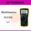 ดิจิตอลมัลติมิเตอร์ สำหรับช่างเทคนิคงานบริการด้านไฟฟ้า Fluke 117มัลติมิเตอร์ที่ให้ค่า True-rms ขนาดกะทัดรัด thumbnail 1