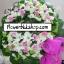 พวงหรีดดอกไม้สด รหัส WWR29