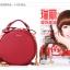 พร้อมส่ง กระเป๋าถือ กระเป๋าสะพายข้าง แบรนด์Axixi รุ่น A10864 (สีดำ สีแดง) thumbnail 20