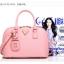 พร้อมส่ง กระเป๋าถือ กระเป๋าสะพายข้าง แบรนด์Axixi รุ่น A10676 (สีดำ สีชมพู) thumbnail 14