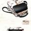พร้อมส่ง กระเป๋าเป้ กระเป๋าสะพายหลัง แบรนด์Beibaobao รุ่น B110 (สีดำ สีขาว) thumbnail 14