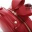 พร้อมส่ง กระเป๋าถือ กระเป๋าสะพายข้าง แบรนด์Axixi รุ่น A10864 (สีดำ สีแดง) thumbnail 12