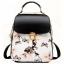 พร้อมส่ง กระเป๋าเป้ กระเป๋าสะพายหลัง แบรนด์Beibaobao รุ่น B110 (สีดำ สีขาว) thumbnail 24