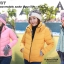 เสื้อกันหนาว SNOWVY : (สีชมพูเข้ม) ทรงขนเป็ดเข้ารูป แขนยาวถึงมือ -15c เอาอยู่ thumbnail 23