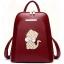พร้อมส่ง กระเป๋าเป้ กระเป๋าสะพายหลัง แบรนด์Beibaobao รุ่น B142 (สีดำ สีแดง) thumbnail 25