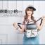พร้อมส่ง กระเป๋าเป้ กระเป๋าสะพายหลัง แบรนด์Beibaobao รุ่น B110 (สีดำ สีขาว) thumbnail 7