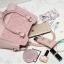 พร้อมส่ง กระเป๋าถือ กระเป๋าสะพายข้าง แบรนด์Axixi รุ่น A12378 (สีชมพู) thumbnail 6