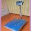 ตาชั่งดิจิตอล เครื่องชั่งดิจิตอล เครื่องชั่งตั้งพื้น 150kg ความละเอียด 10g CAS HDI-150Kแท่นขนาด 40x50cm. thumbnail 2