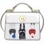 พร้อมส่ง กระเป๋าถือ กระเป๋าสะพายข้าง แบรนด์Beibaobao รุ่น b735 (ดำ ชมพู ครีม เงิน) thumbnail 23
