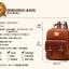 พร้อมส่ง กระเป๋าเป้ กระเป๋าสะพายหลัง แบรนด์Beibaobao รุ่น b201433 (ดำ,น้ำตาล,น้ำตาลเข้ม,ครีม) thumbnail 23