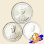 เหรียญ 10, 5 และ 1 สตางค์ ฉลองสิริราชสมบัติ ครบ 50 ปี กาญจนาภิเษก รัชกาลที่ 9 thumbnail 2