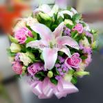 แจกันดอกไม้สด รหัส WVA02