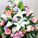 แจกันดอกไม้สด รหัส WVA08